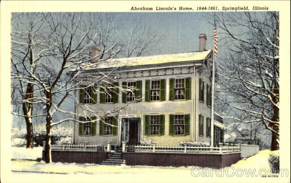 Abraham Lincoln's Home Springfield Illinois