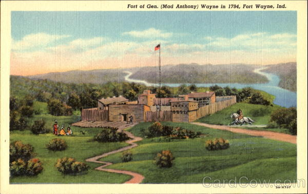 Fort Of Gen. Mad Anthony Fort Wayne Indiana