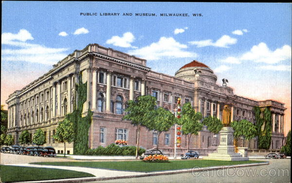 Public Library And Museum Milwaukee Wisconsin