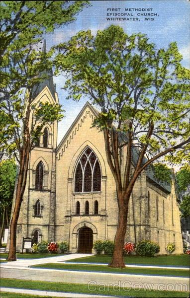 First Methodist Episcopal Church Whitewater Wisconsin