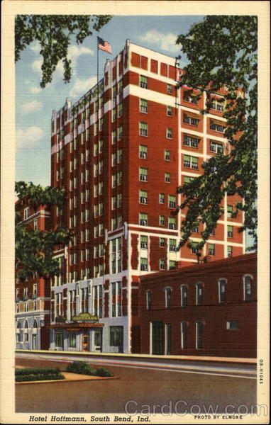 Hotel Hoffmann South Bend Indiana