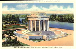Nationally Famed George Rogers Clark Memorial