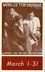 Mobilize For Defense 1951 Red Cross