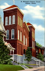 St. Michael's Roman Catholic Church Postcard
