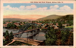 Arch Bridge And North Walpole