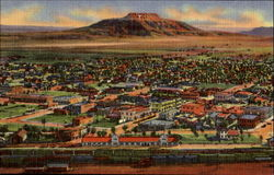 Air View Of Tucumcari Postcard