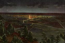Lights Of Denver From Lookout Mountain