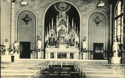 Chapel - Holy Ghost Convent Postcard