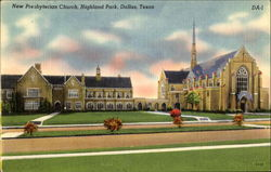New Presbyterian Church, Highland Park Postcard