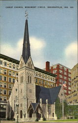 Christ Church Frederica, Monument Circle Postcard