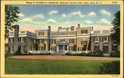 Home Of Franklin D. Roosevelt, National Historic Site