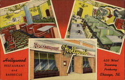 Hollywood Restaurant And Barbecue, 620 Diversey Parkway