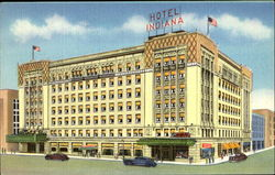 Hotel Indiana, U. S. Routes No. 34, 24, 33 and 14