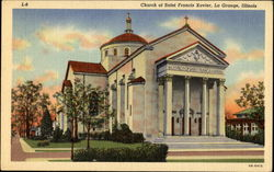 Church Of Saint Francis Xavier Postcard