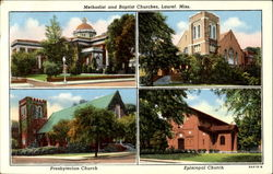 Methodist And Baptist Churches
