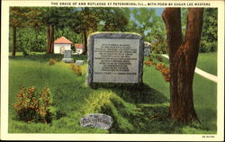 The Grave Of Ann Rutledge