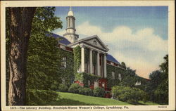 The Library Building, Randolph-Macon Woman's College