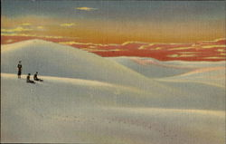Sunset On The White Sands