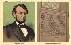 Abraham Lincoln National Historical Park Postcard