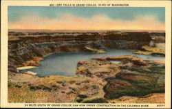 Dry Falls In Grand Coulee