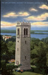 The Carillon Tower, University Of Wisconsin
