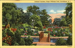 Oriental Gardens, Roger Williams Park