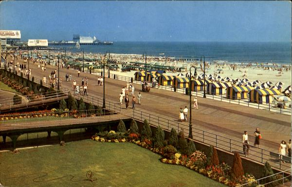A Beautiful View Of The Boardwalk Atlantic City New Jersey