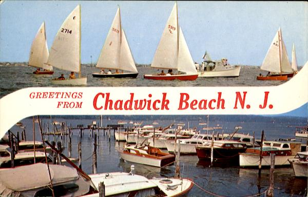 Greetings From Chadwick Beach