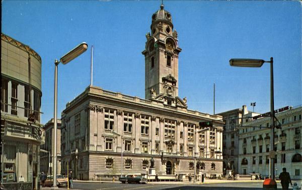 City Hall Passaic New Jersey Postcard