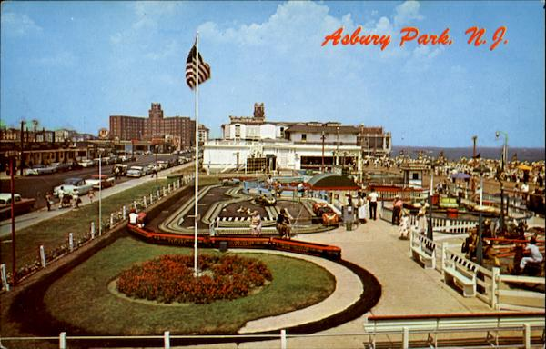A Small Section Of The Fun Area Asbury Park New Jersey