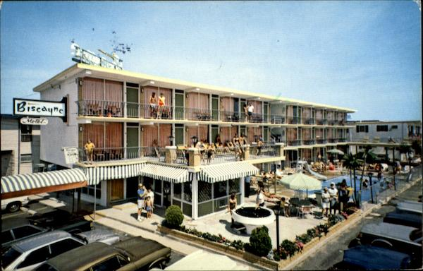 Biscayne Motel Louisville Atlantic Ave Wildwood Crest NJ