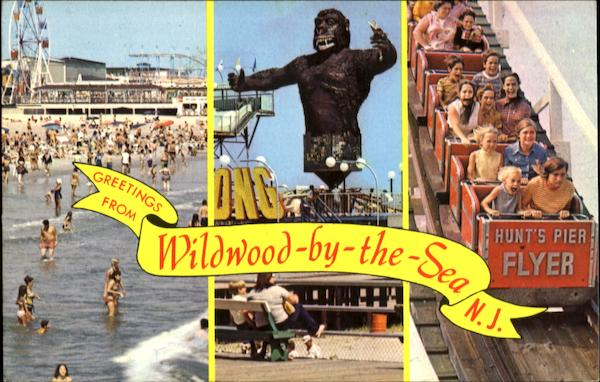 Greetings From Wildwood-By-The-Sea, Wildwood-By-The-Sea New Jersey