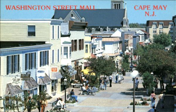 Washington Street Mall Cape May New Jersey