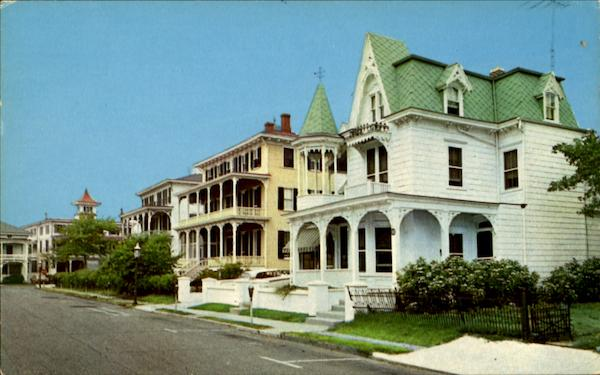Victorian Setting - Congress Place Cape May New Jersey