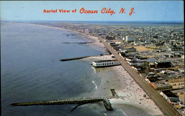 Aerial View Of Ocean City New Jersey