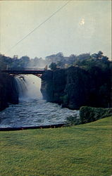 A View Of Passaic Falls And Chasm Bridge
