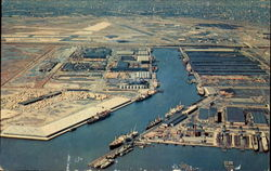 Aerial View Of Port Newark