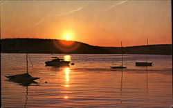 Sunset On Lake Hopatcong, Morris County