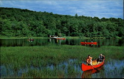Canoeing At Camp Wapalanne
