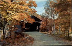 The Old Covered Bridges Postcard