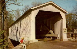 Green Sergeant's Covered Bridge, Rosemont-Sergeantsville Road Hunterdon County