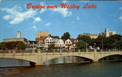 Bridge Over Wesley Lake