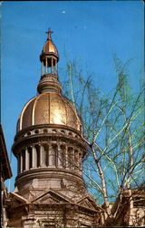 The State Capitol Gold Dome, Mercer County