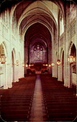 Interior Of Chapel, Princeton University