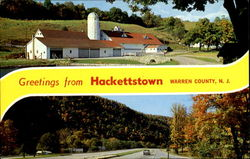 Greetings From Hackettstown, Waren County