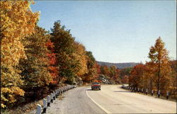 Autumn Along U. S. Highway 206, Near Cranberry Lake, Sussex County
