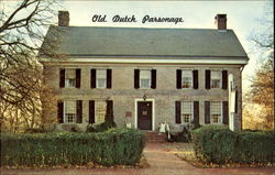 Old Dutch Parsonage Washington Place
