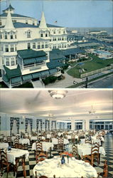 The Colonial Hotel And Villa On The Beach And Ocean Postcard