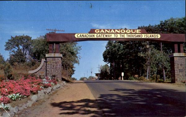 Gananoque Candian Gateway To The Thousand Islands Ontario Canada