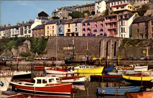 Brixham Harbour Devon England